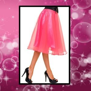 Dresses & Skirts - Bow Accent A-line Tulle Skirt